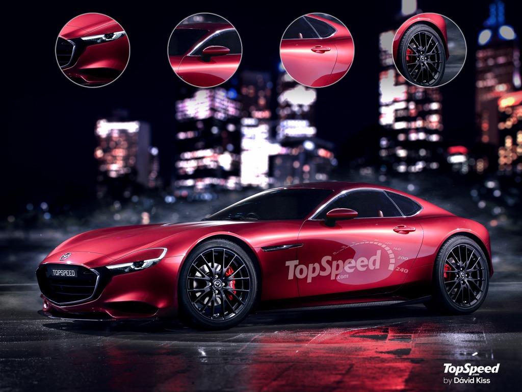 2023 Mazda RX7 Interior