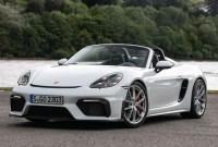 2023 Porsche Boxster Spyder Spy Photos