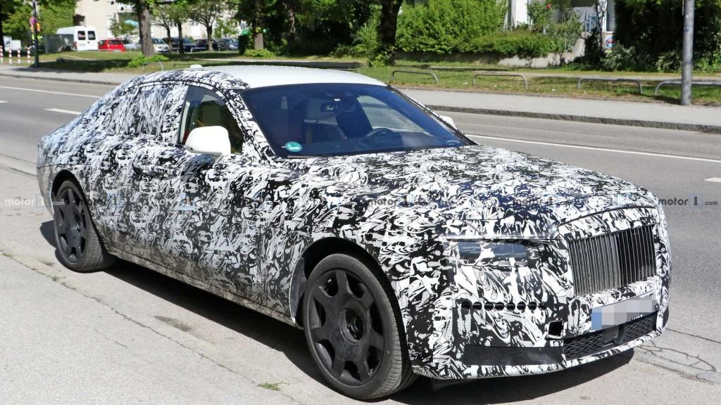 2023 Rolls Royce Wraith Spy Shots