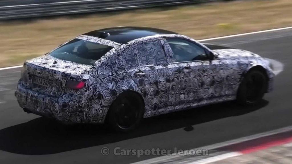 2023 BMW M5 Xdrive Awd Powertrain