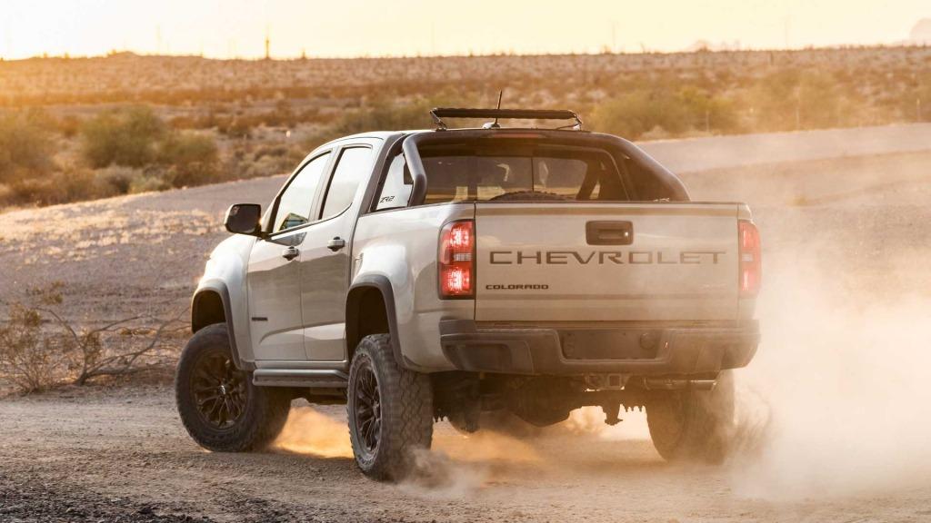 2023 Chevy Colarado Diesel Interior