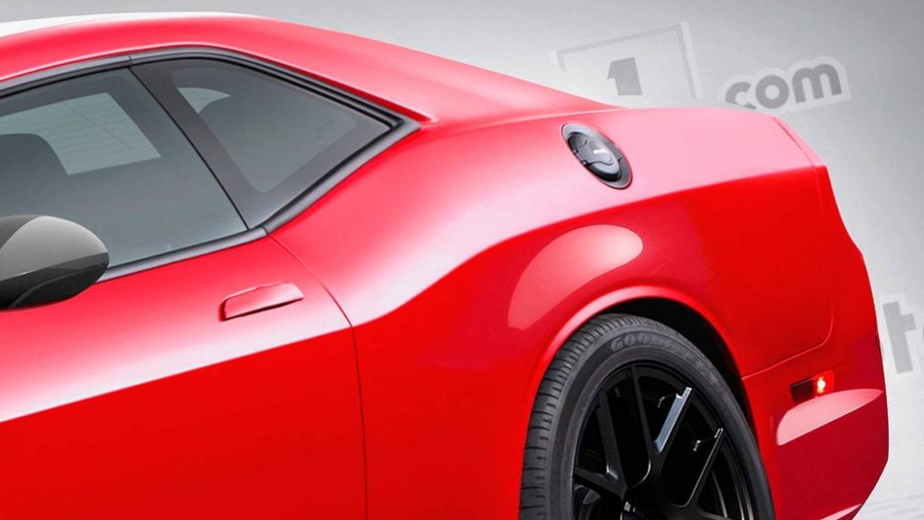 2023 Dodge Challenger Hellcat Interior