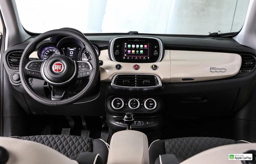 2021 Fiat 500X Drivetrain