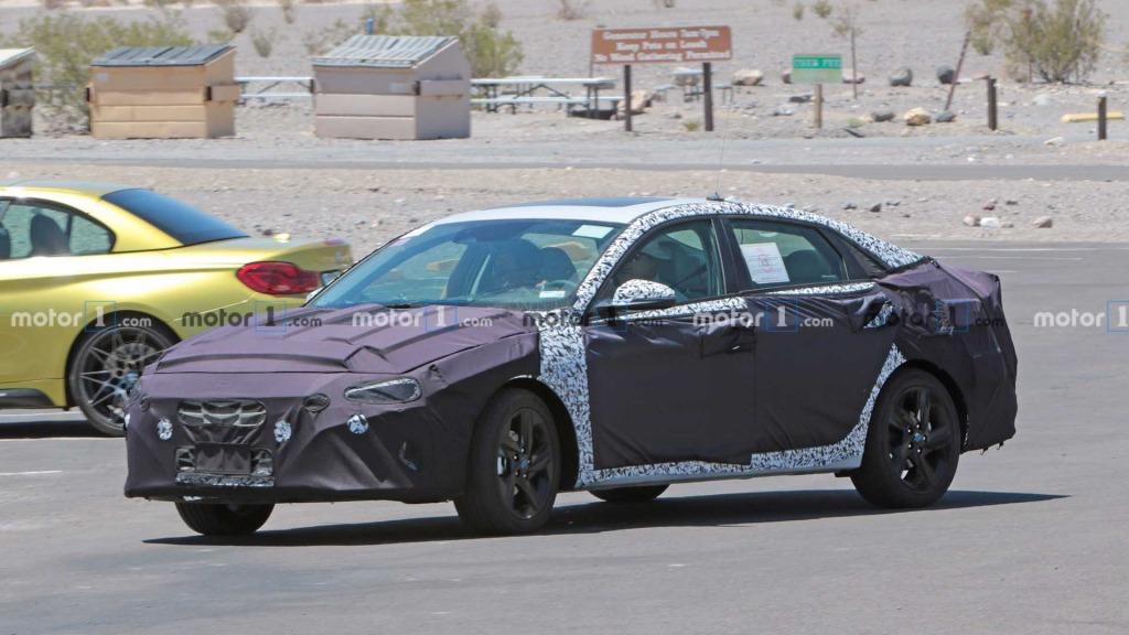 2023 Hyundai Elantra Spy Shots