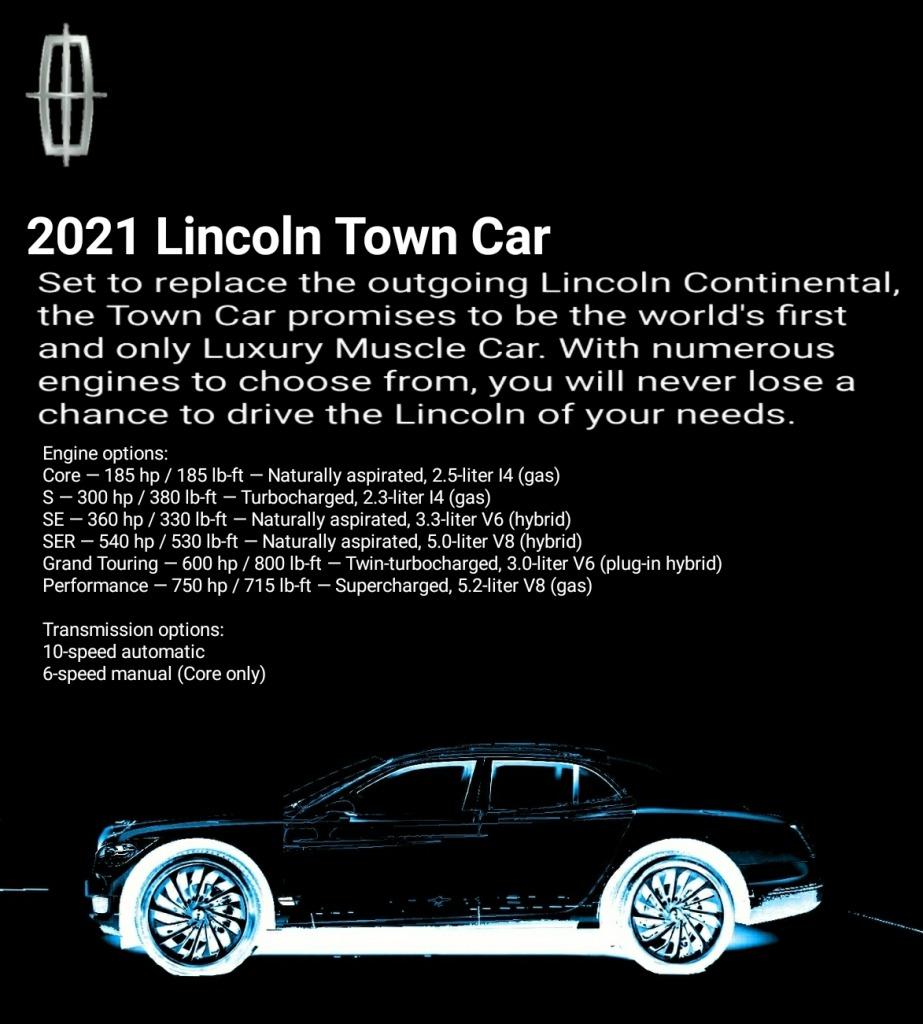 2023 Lincoln Continental Spy Photos