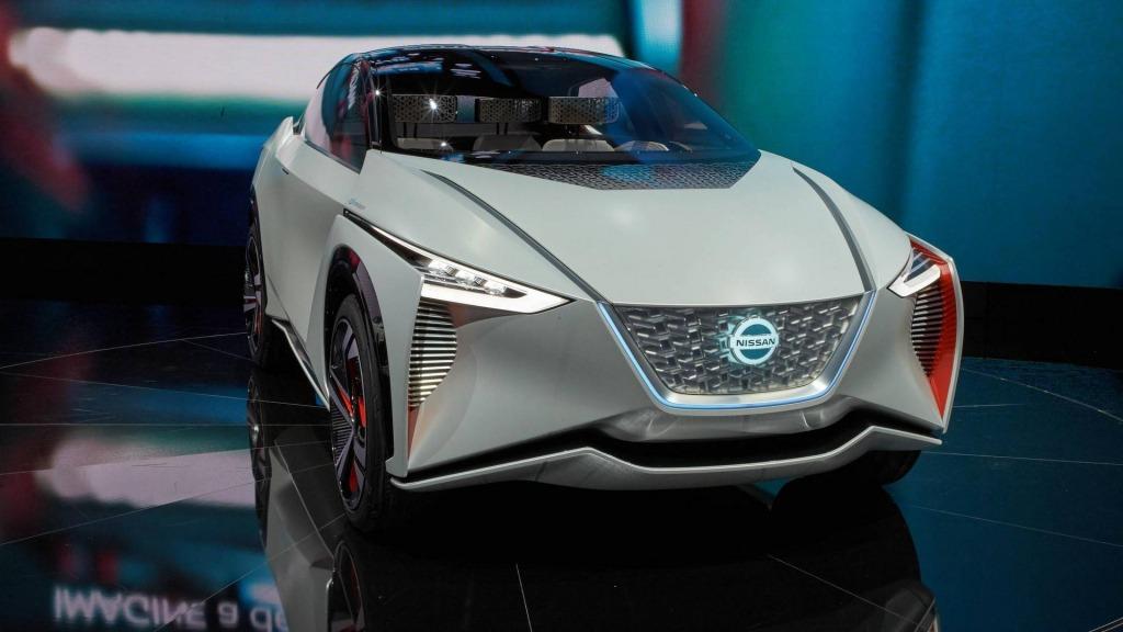 2021 Nissan Leaf Range Interior