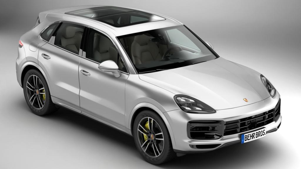 Porsche Cayenne Model Redesign