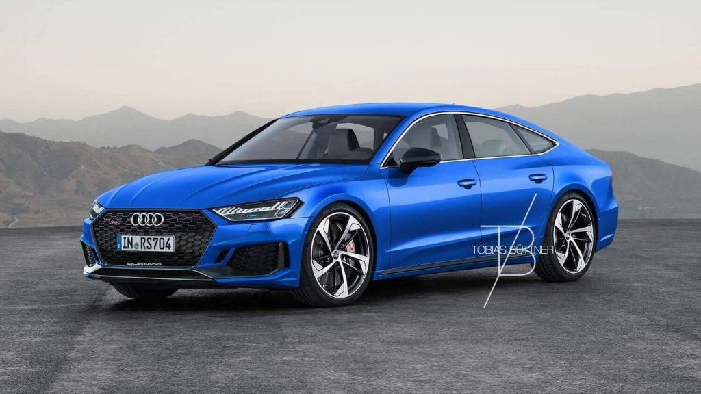 2023 Audi Rs7 Spy Shots