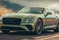 2021 Bentley Continental GT Release date