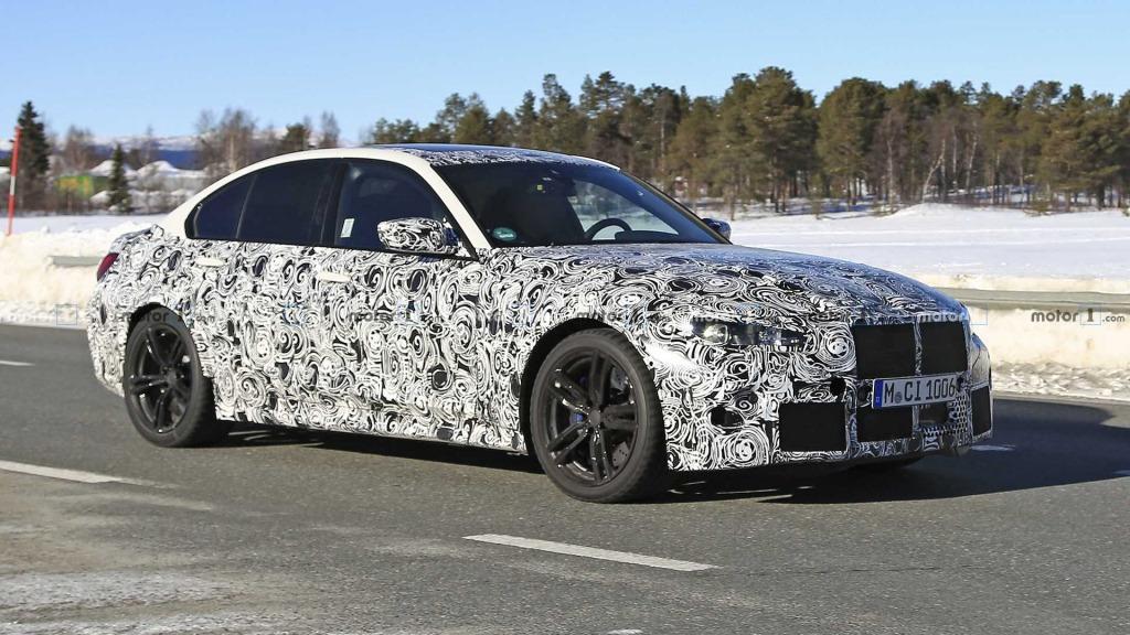 2023 BMW M3 Interior