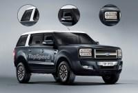 2023 Ford Everest Spy Shots
