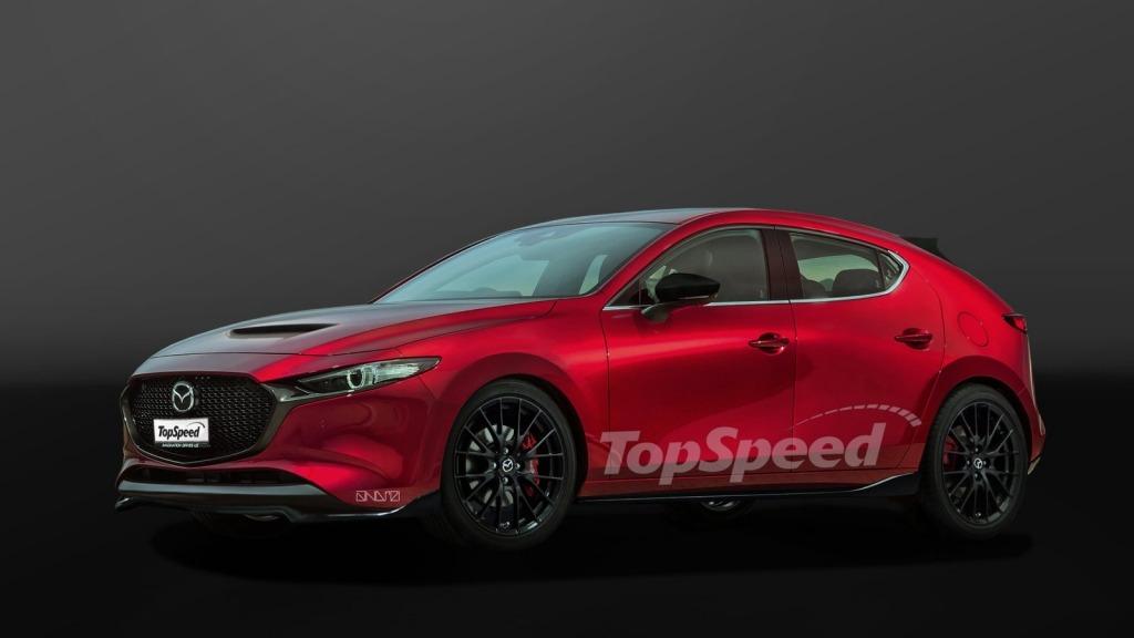 2023 Mazdaspeed 3 Exterior