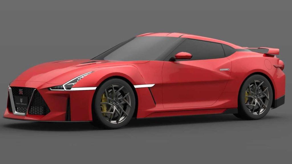 2023 Nissan GTR Engine
