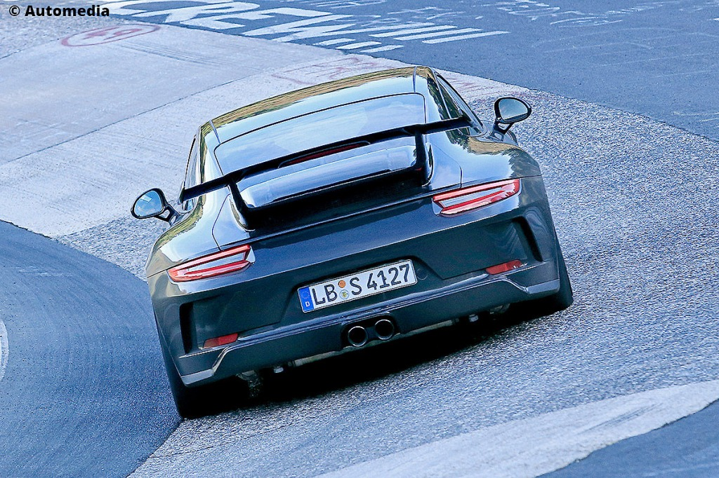 2023 Porsche 960 Spy Shots