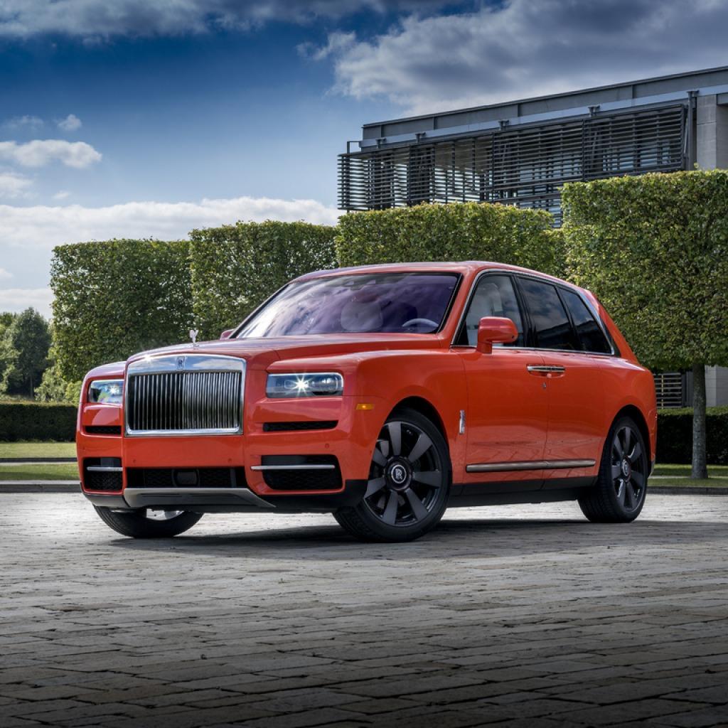 2022 Rolls Royce Cullinan Spy Shots