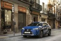 Lexus UX SUV 2023 Drivetrain