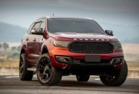 2023 Ford Everest Drivetrain