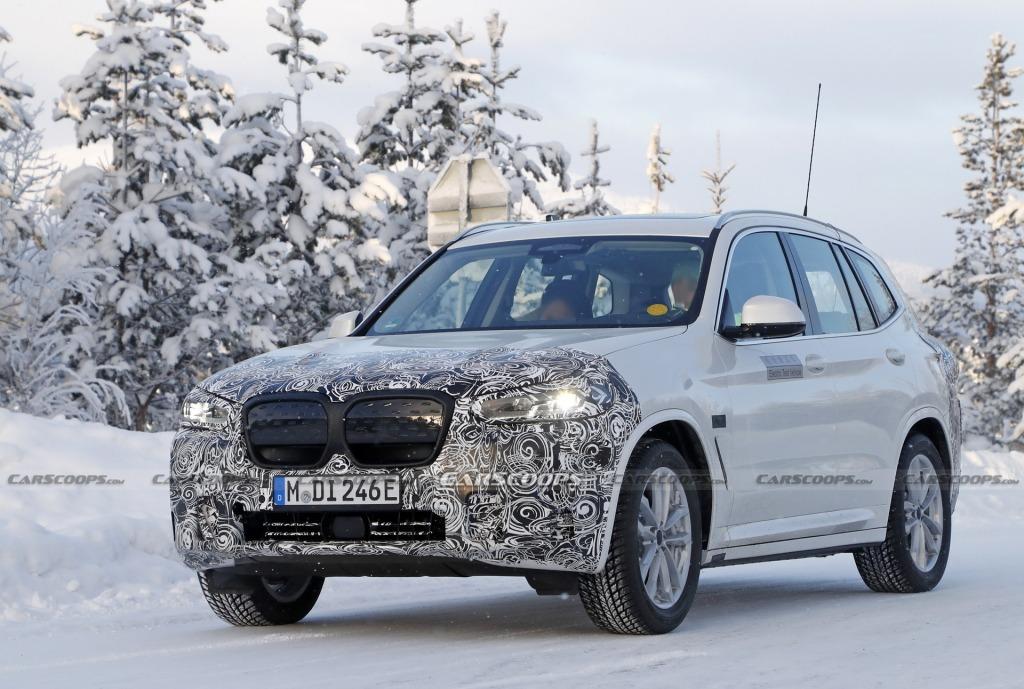 2023 BMW IX3 Interior