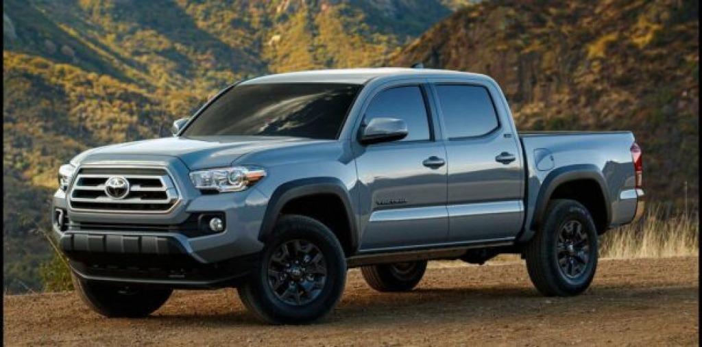 2023 Toyota Tacoma Spy Shots