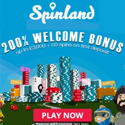 Spinland Casino No Deposit Bonus