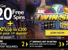 20 no deposit twin spin spins