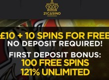 21 casino no deposit