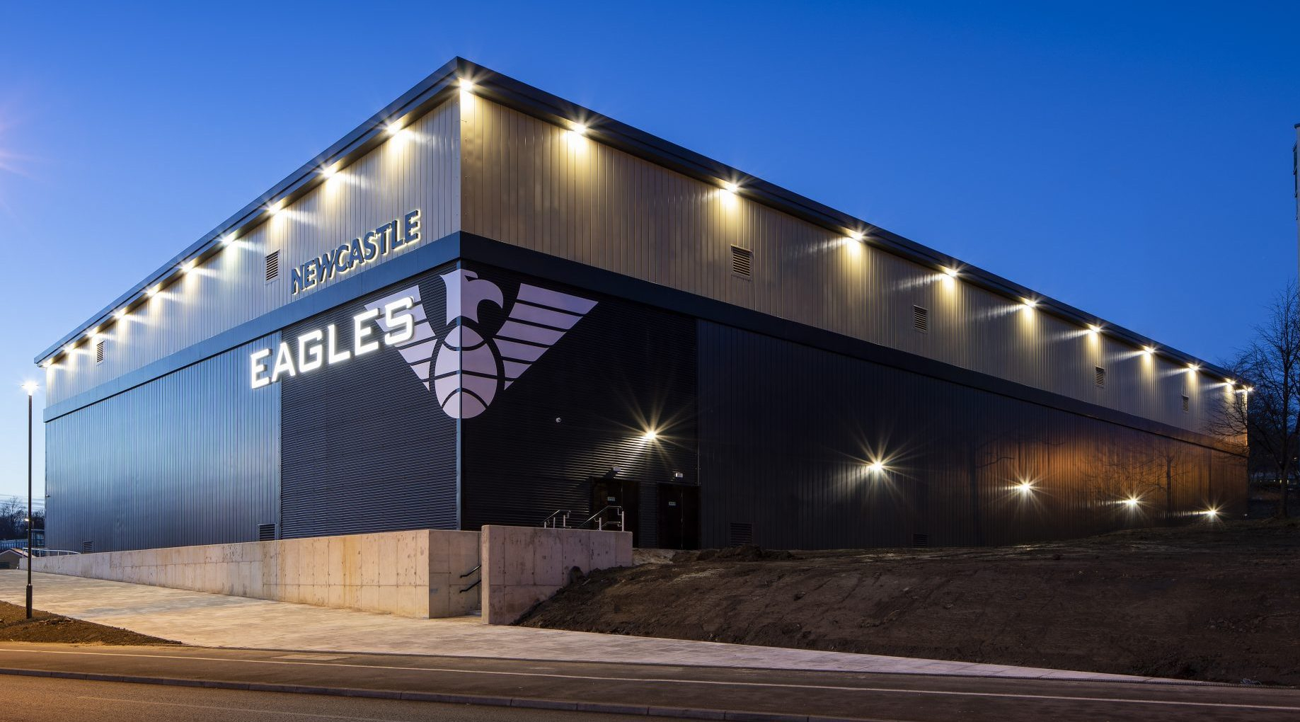 Stadium vendors get to attend every game for free and often have a great view of the action. Eagles Community Arena - Newcastle Eagles