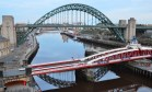 Bridges across the Tyne