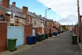 Heaton: Tyneside flats with enclosed rear yards (Feb 2014)