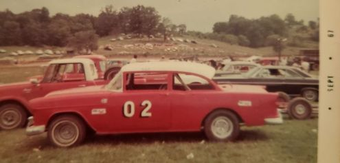The Ole Red and White 02 was considered true competition whenever Ronnie raced.
