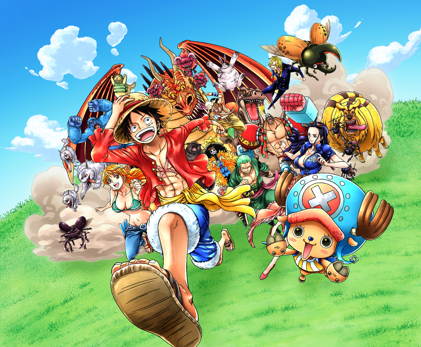 One Piece: Unlimited World Red Deluxe Edition coming to Switch