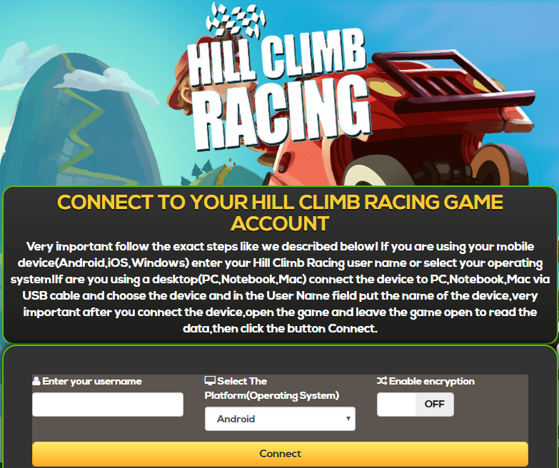 hill climb racing coin hack android