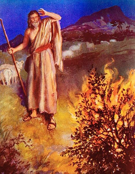burning bush church fathers # 50