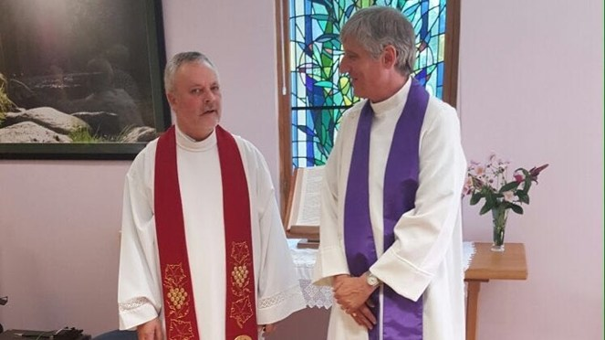 Ordination of Rev Robin Wooldridge