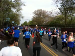 Race to Wrigley runners/Photo: Zach Freeman