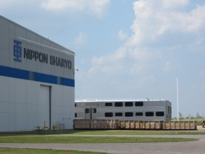 Nippon Sharyo plant in Rochelle / Photo: John Greenfield
