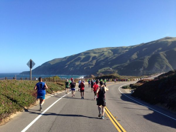 Big Sur International Marathon course/Photo: Zach Freeman