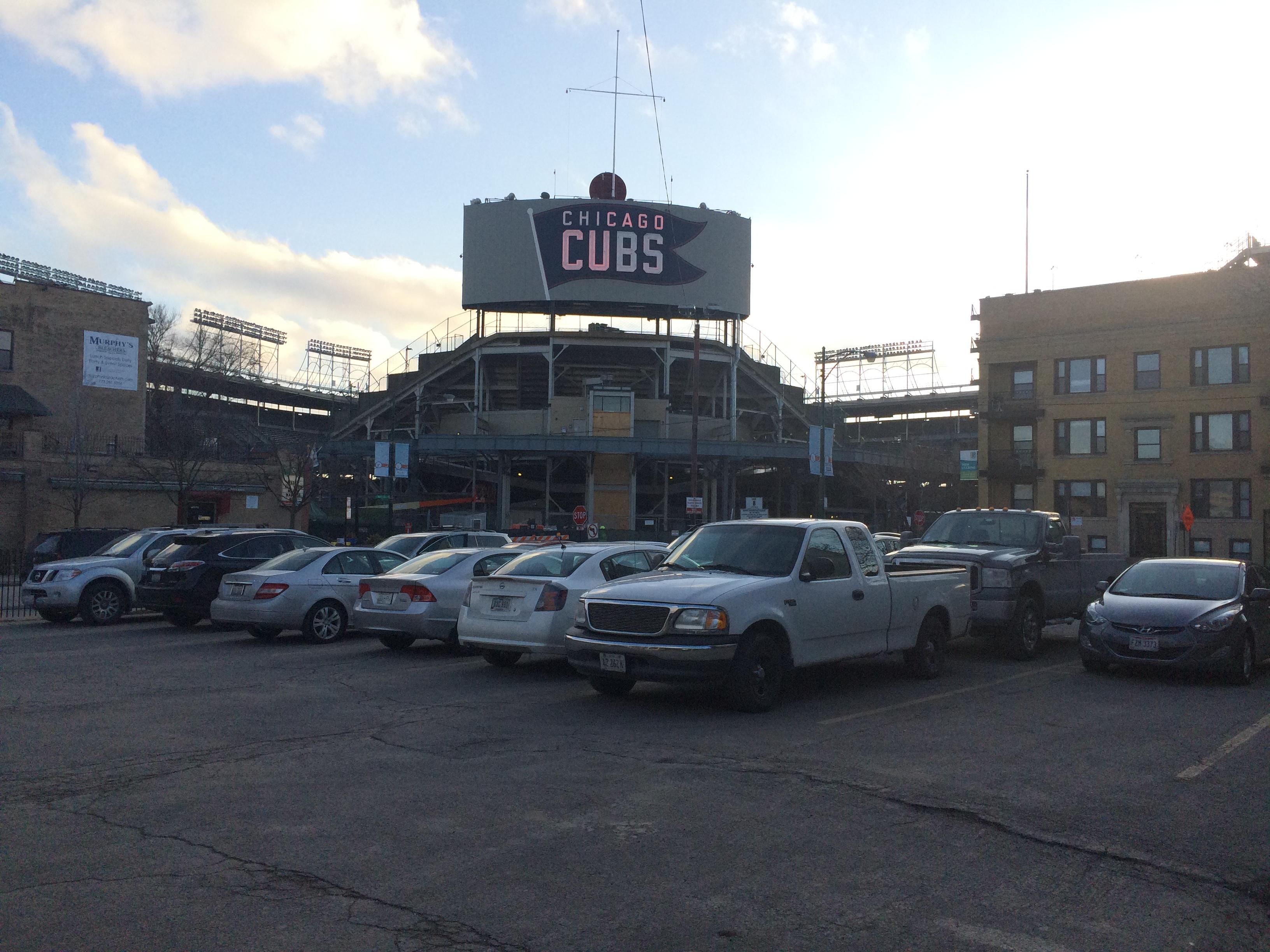 Parking Garage Near Wrigley Field Dandk Organizer