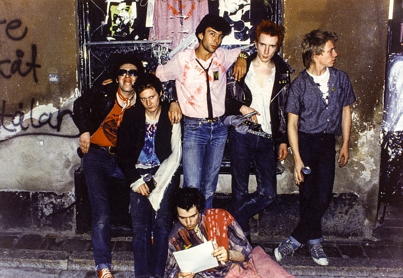 Thomas Dellert and the Sex Pistols 1978
