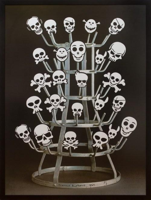 "Nelson Leirner, ""Duchamp Rack"", 2011, 160 x 120CM, photography"