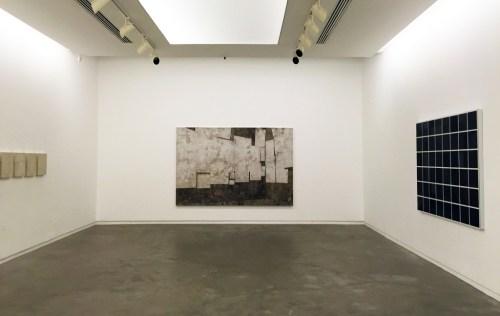Daniel Senise, view of Le Salon, his solo show in Rio's Silvia Cintra Gallery, October 2015