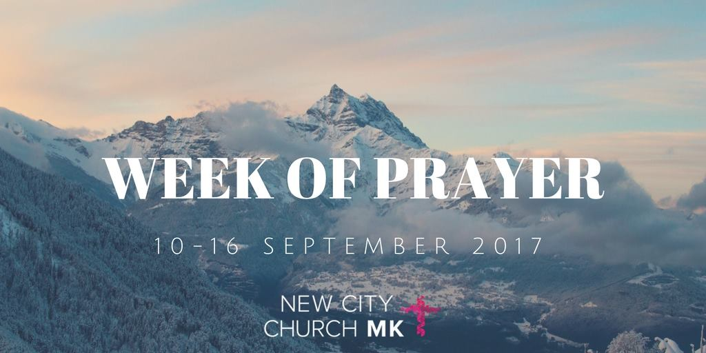 Week of Prayer September 2017