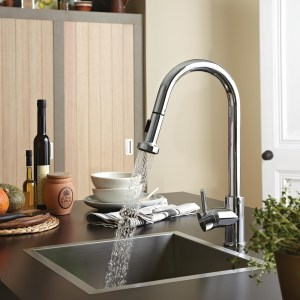 Professional Sink Mixer with Pull Out Spray_ Bristan_ContactKempston