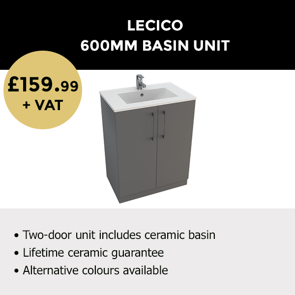 600MM Basin Unit from Lecico_Trade Deals
