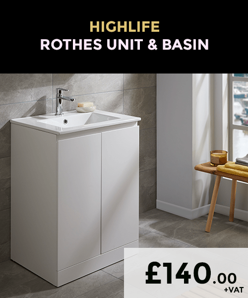 Highlife Rothes 60mm Basin and Unit_Autumn Offers
