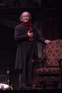 Larry Yando's Scrooge at the Goodman