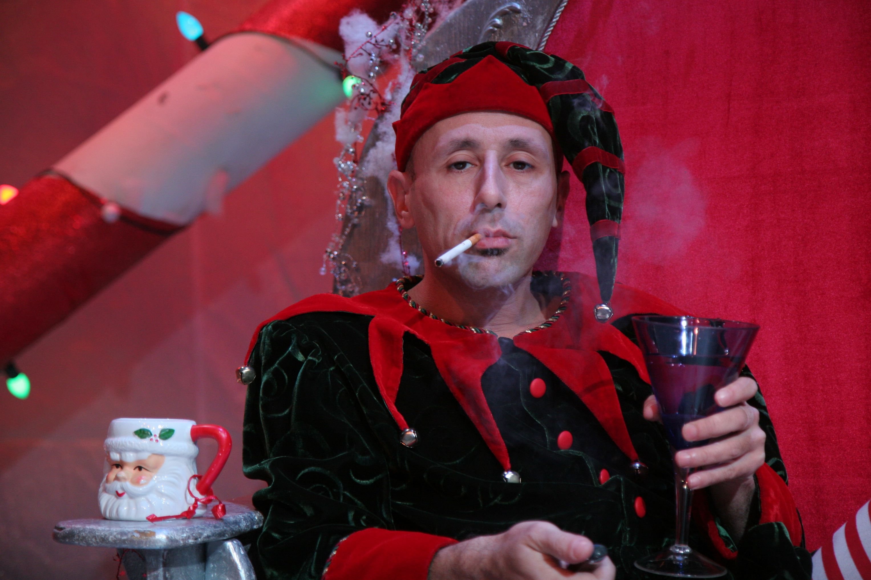 its fifth year running theater wits one man adaptation by joe mantello of the classic david sedaris tale is starting to wear a bit thin but luckily the - David Sedaris Christmas