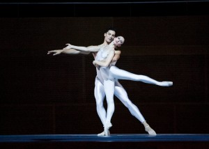 Victoria Jaiani and Fabrice Calmels/Photo: Cheryl Mann