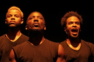 Michael Turner,      Khalil Anthony, Dahlak Brathwaite in Word Becomes Flesh