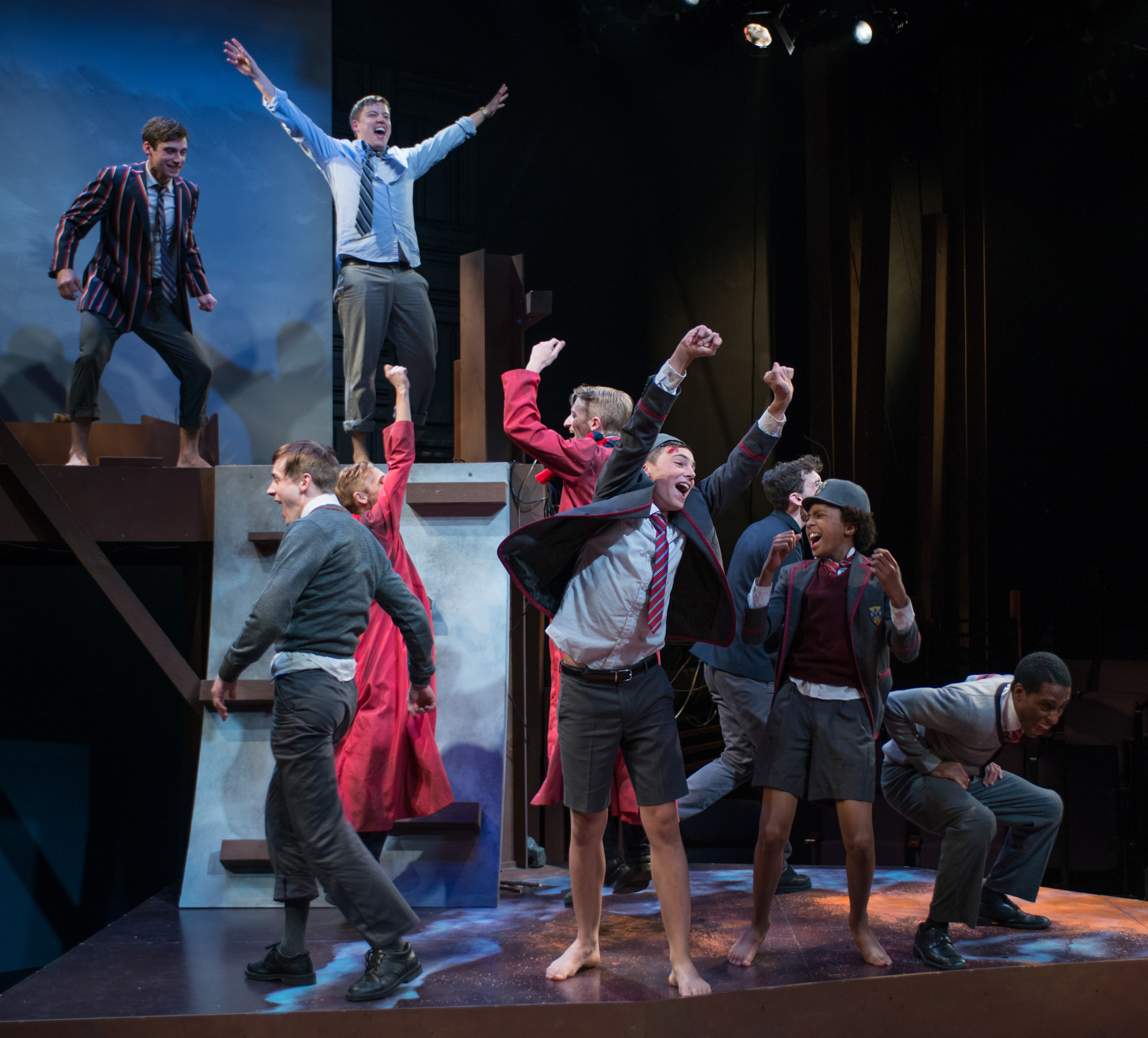 review lord of the flies steppenwolf for young adults newcity stage review lord of the flies steppenwolf for young adults